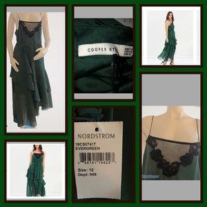 Dresses & Skirts - Cooper St Green Maxi Dress 12 NWT